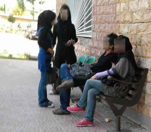 www.dustaan.com انتقاد از وضعیت دختر و پسرها در دانشگاهآزاد + عکس