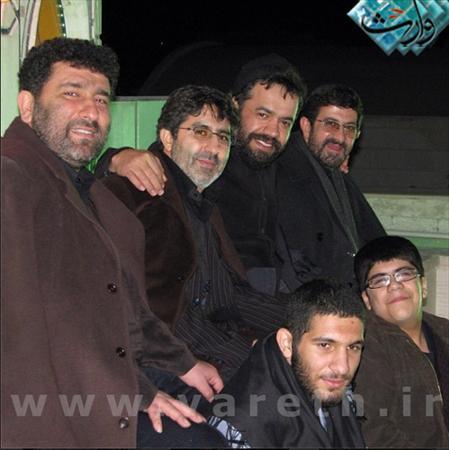 www.dustaan.com بام حرم حضرت رقیه پذیرای چهار مداح معروف
