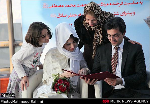 www.dustaan.com تصاویری از عروسی گروهی در برج میلاد