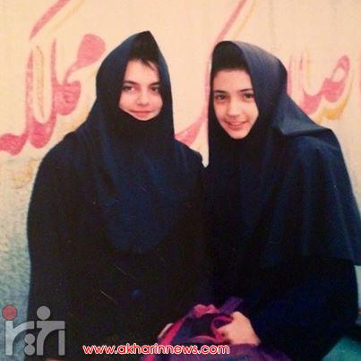 www.dustaan.com عکسی جالب از دوران دبیرستان شبنم قلی خانی