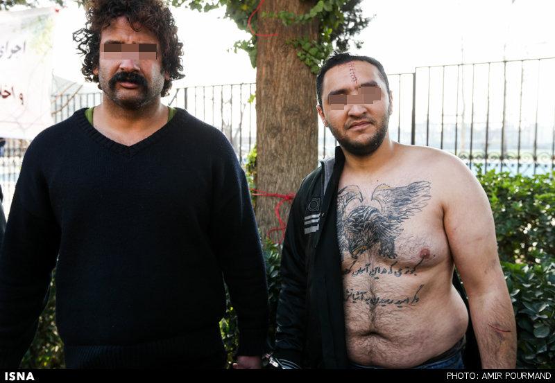www.dustaan.com تصاویری از دستگیری 88 نفر از اراذل و اوباش تهران بزرگ
