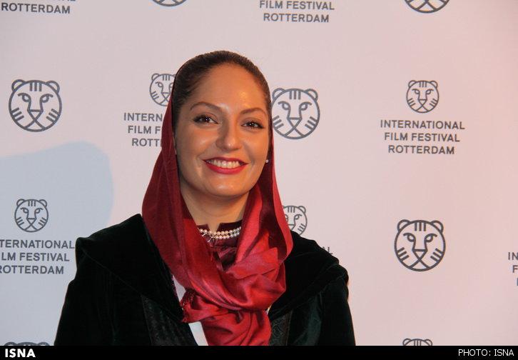 www.dustaan.com مهناز افشار در جشنوارهی فیلم روتردام هلند +عکس