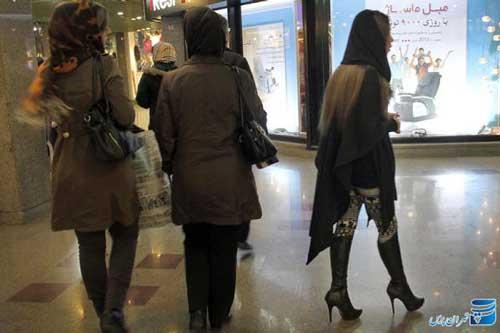 www.dustaan.com تصاویری از وضعیت بد بی حجابی در مراکز خرید تهران