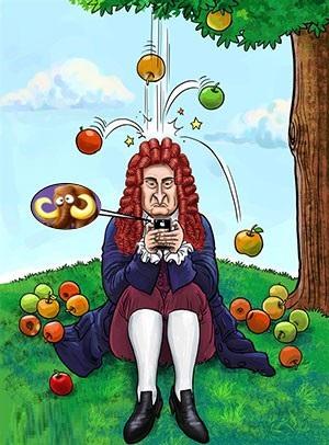 www.dustaan.com قوانینی رو که دانشمند بزرگ «نیوتون» از قلم انداخت!