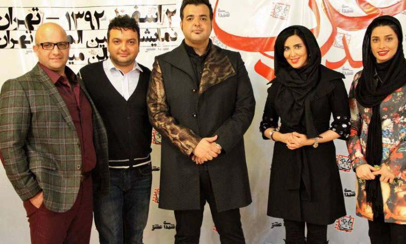 www.dustaan.com 2 عکس زیبا از تینا اخوندتبار و لیلا بلوکات در کنسرت سعید عرب