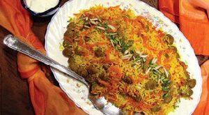 طرز تهیه هویج پلو با مرغ
