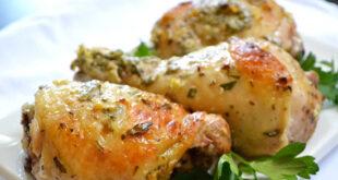 اموزش طرز تهیه مرغ مارینه یونانی+تصاویر
