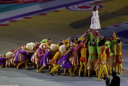 www.dustaan.com تصاویری از افتتاح المپیک زمستانی در سوچی (sochi olympic)