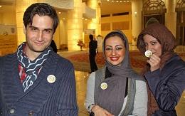 www.dustaan.com کری خوانی نفیسه روشن و شراره رخام برای پرسپولیسی ها