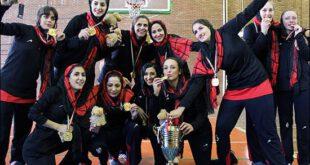 تصاویری از مسابقات بسکتبال زنان