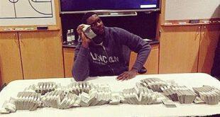 عکس جنجالی از ستاره NBA