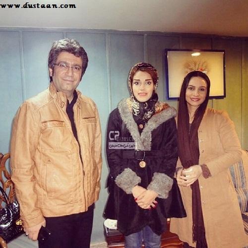 www.dustaan.com تصویری جالب از مریم کاویانی و رضا رشید پور در کنار هم+ بیوگرافی