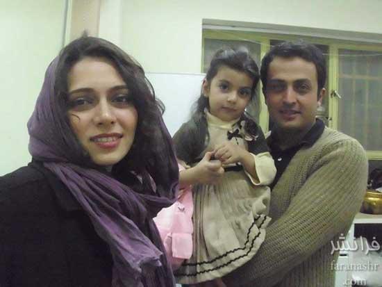www.dustaan.com 2 تصویر جدید از پگاه اهنگرانی به همراه همسر و فرزندش