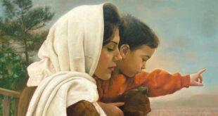 داستانک بسیار زیبای «مادرم خود عید بود»
