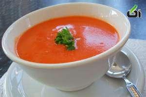 www.dustaan.com طرز تهیه یک سوپ خوشمزه برای لاغری!