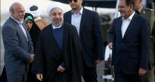 تصاویری از بازگشت رئیس جمهورکشورمان از افغانستان