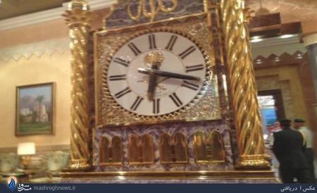www.dustaan.com کنایه خبرنگار زن آمریکایی به ساعت طلای دربار سعودی/تصاویر
