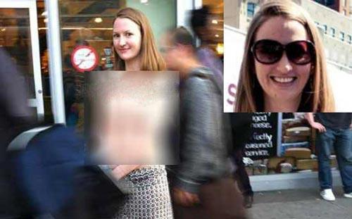 www.dustaan.com حرکت بی شرمانه یک زن جوان در خیابانهای نیویورک+ تصویر