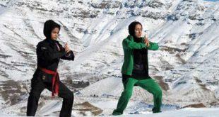 دختران نینجا کار ایرانی در آمریکا!+ تصاویر