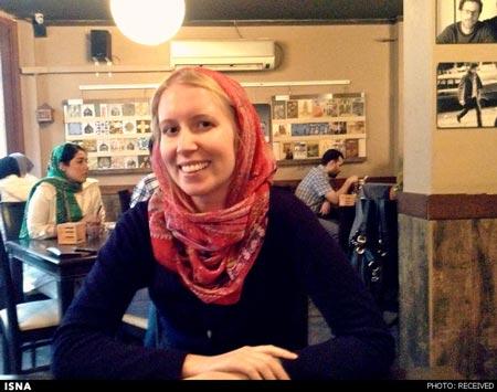 www.dustaan.com دختر جوان امریکایی از سفر خود به ایران می گویید/ تصویر
