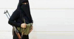 اولین زن عربستانی که عضو گروه تروریستی داعش شد/تصویر