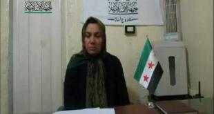 ویدیویی مشکوک از اسارت یک زن ایرانی در سوریه + تصاویر