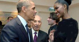 دختری که اوباما را مجذوب زیبایی خود کرد!/ تصویر