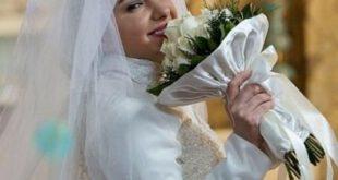 هانیه توسلی را با لباس عروس ببینید!