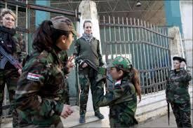 www.dustaan.com گزارشگر انگلیسی از دیدن آنچه در دمشق می گذرد شوکه شد!!