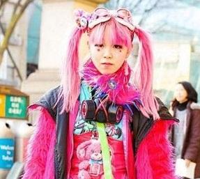 www.dustaan.com تیپ های بسیار عجیب و حیرت انگیز دختران ژاپنی! +تصاویر