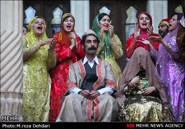 www.dustaan.com مراسم عروسی به سبک شیرازی ها! +تصاویر