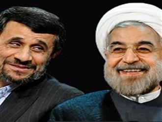 www.dustaan.com عکس: مقاسیه دیدار های روحانی و احمدی نژاد در سفر به امریکا