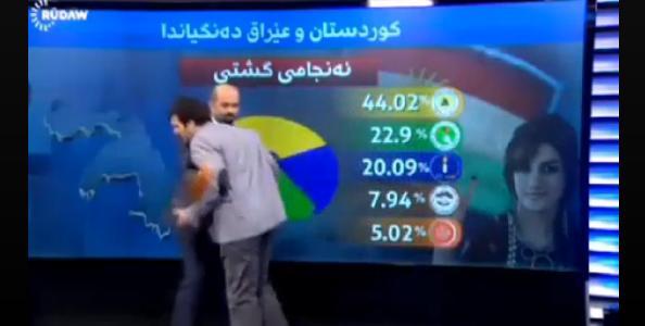 www.dustaan.com غش کردن کارشناس در برنامه زنده تلوزیونی! +تصاویر