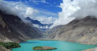 تصاویری بسیار زیبا از دریاچه عشق در پاکستان