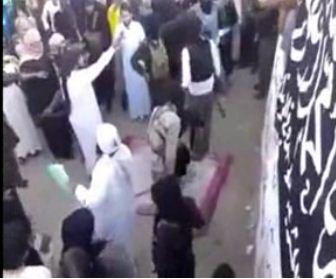 www.dustaan.com فیلم / اعدام نوجوان سوری توسط داعش