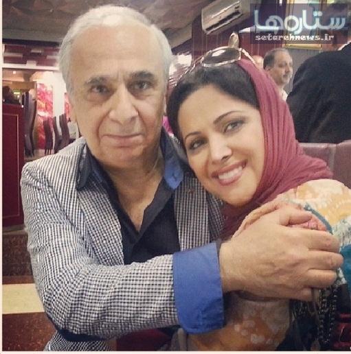 www.dustaan.com عکس/ بازیگر زن و مرد ایرانی در آغوش یکدیگر