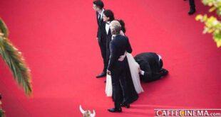 رفتار بسیار زشت یک خبرنگار با بازیگر زن در جشنواره کن +تصاویر
