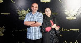 عکس/ رویا نونهالی در کنار همسرش