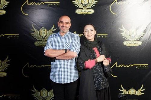 www.dustaan.com عکس/ رویا نونهالی در کنار همسرش