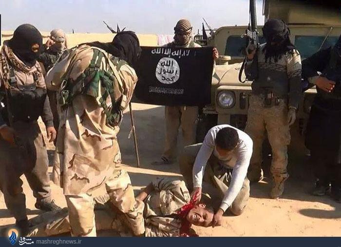 عکس/ بریدن وحشیانه سر سرباز عراقی توسط داعش +18