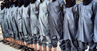 کودکانی که در صف اموزش برای عملیات انتحاری داعش هستند! +عکس