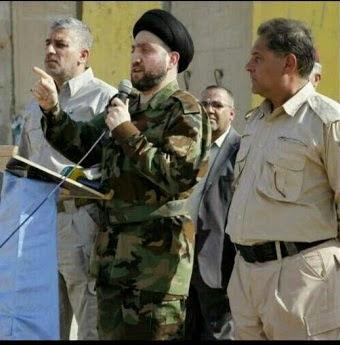 www.dustaan.com برای مبارزه با داعش رئیس مجلس عراق هم سلاح به دست شد +عکس