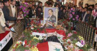ایا داعش قصد نبش قبر «صدام» را دارد؟!
