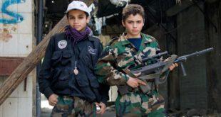سوء استفاده جنسی و نظامی عناصر داعش از کودکان +تصاویر