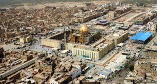 تصاویری بسیار زیبا از مرقد حضرت علی (ع)