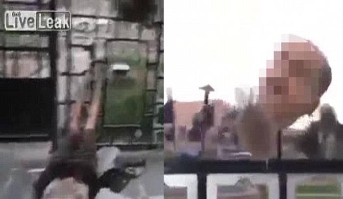 www.dustaan.com سرهای بریده سوری بر روی نیزه های داعش +عکس