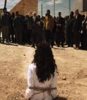 www.dustaan.com زنانی که بدون محرم در موصل تردد کنند سنگسار میشوند!