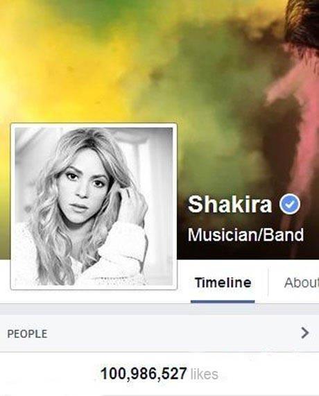 این زن با 100 میلیون لایک به عنوان ملکه فیسبوک انتخاب شد!
