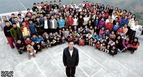 www.dustaan.com زندگی عجیب مردی که دارای 94 فرزند است! +تصاویر