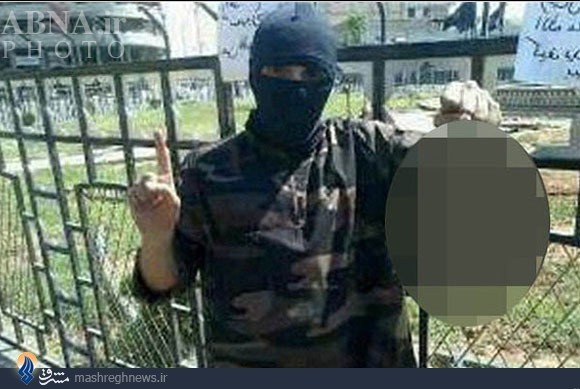 www.dustaan.com عکس/ سر بریدن یک سوری توسط خواننده انگلیسی عضو داعش